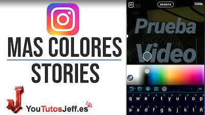 añadir mas colores texto instagram