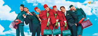 A estética dos novos uniformes reforça as cores da companhia