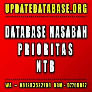 Jual Database Nasabah Nusa Tenggara Barat
