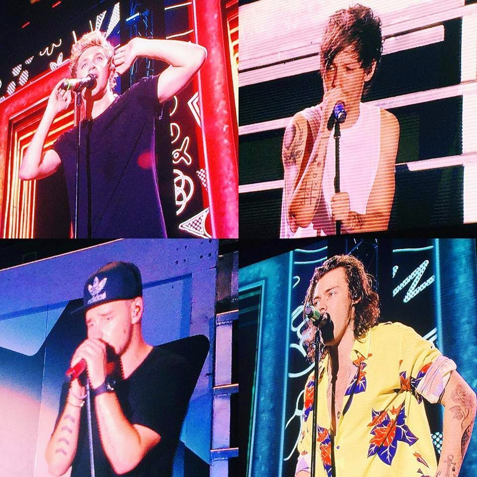 Harry Styles, Liam Payne, Niall Horan, and Louis Tomlinson invade Manila