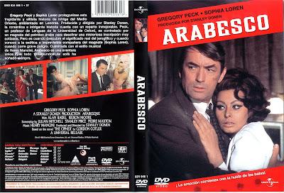 Carátula dvd: Arabesco / 1966 / Arabesque / Descargar / Película