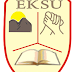 EKSU 2016/2017 Full-Time Postgraduate Admission Forms On Sale