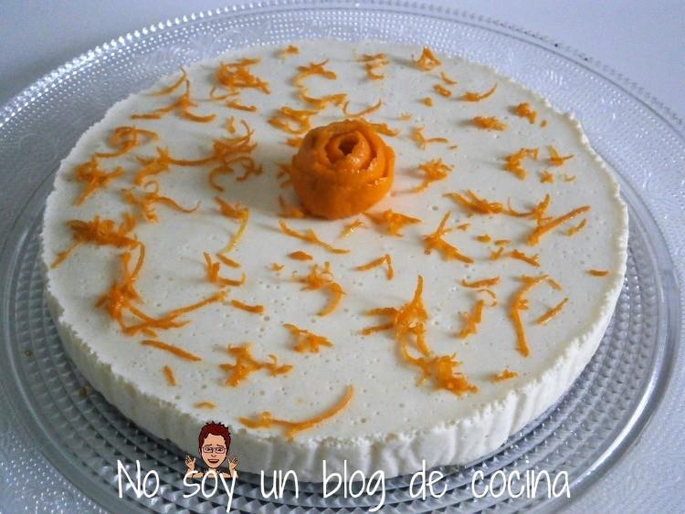 CHEESECAKE DE MANDARINA-Tarta de queso y mandarina