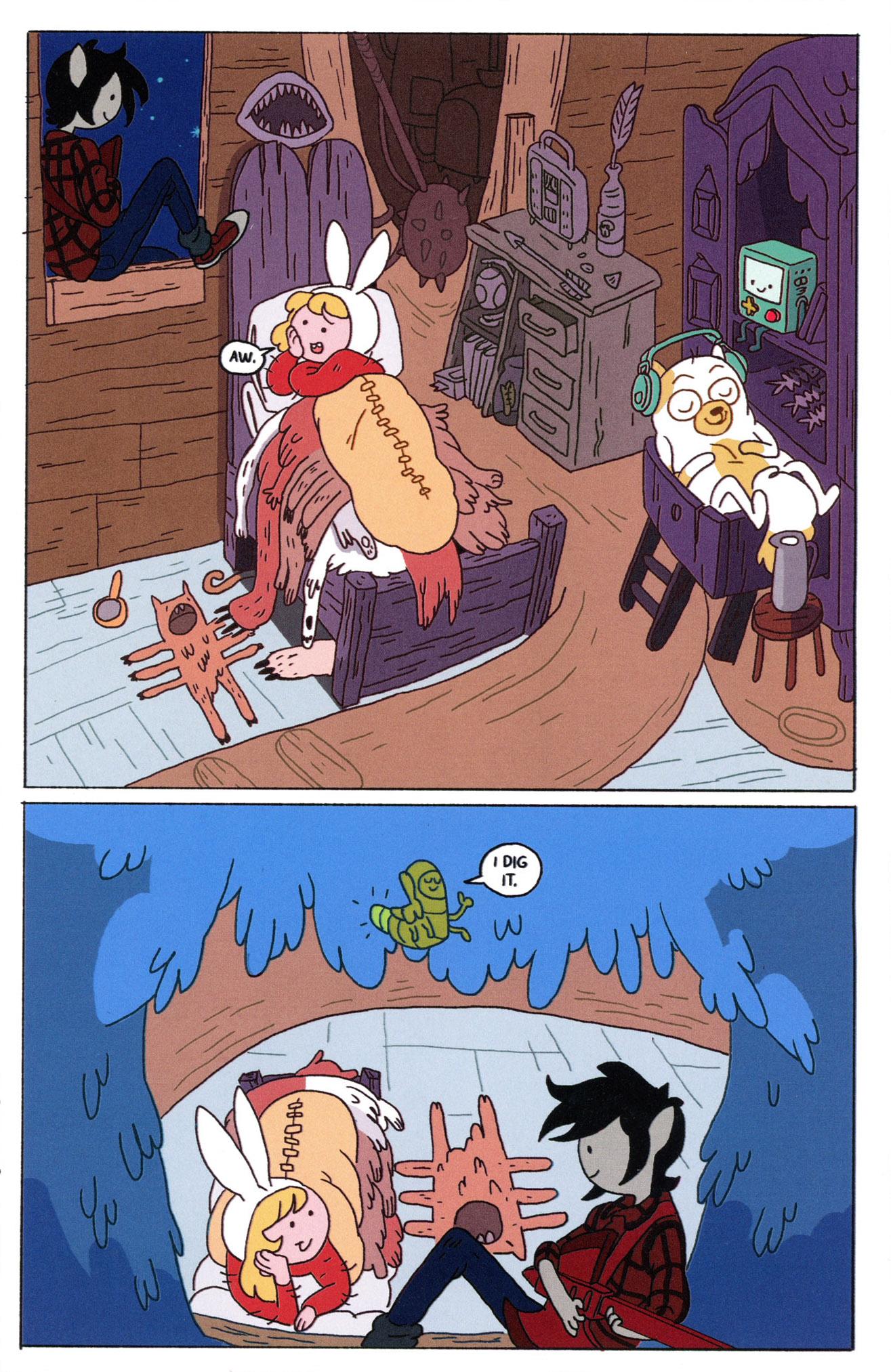 Read online Adventure Time Comics comic -  Issue #8 - 23