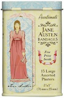 Jane Austen bandages / Produits dérivés Jane Austen / Insolite / Blog