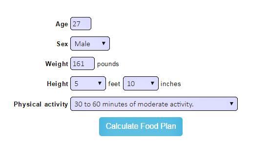 Cuántas Calorías debo consumir por día