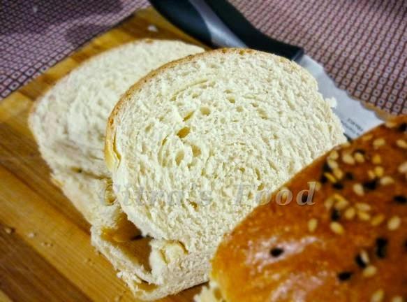 Sandwich White Bread / Roti empuk tanpa telur