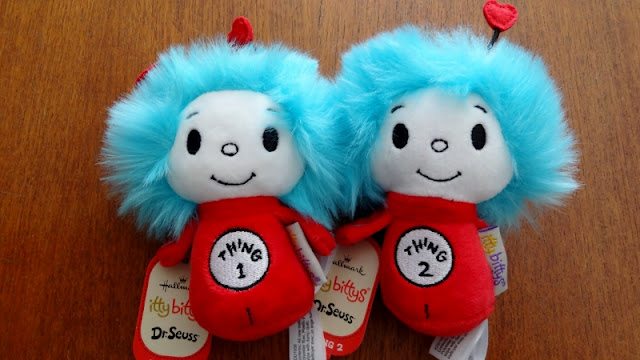 Dr. Seuss Thing 1 and Thing 2 itty bittys #giveaway