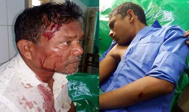 শাহজাদপুরে তুচ্ছ ঘটনায় প্রতিপক্ষের হামলায় ১০ জন আহত