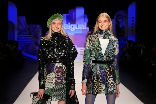 Desigual, New York Fashion Week, NYC, AW16, Fall 2016, moda, moda española, moda mujer, moda mujer, Suits and Shirts,