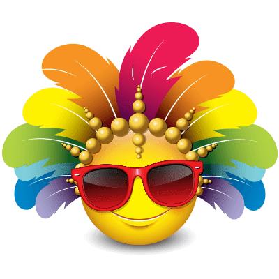 Carnival smiley