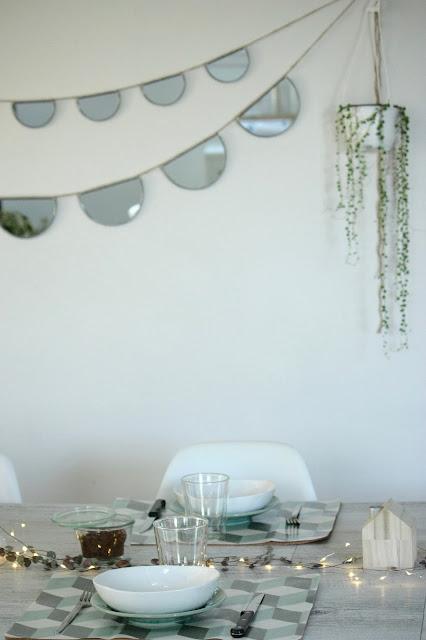 Un nouveau regard diy vos jolis sets de table - Set de table tissu ...