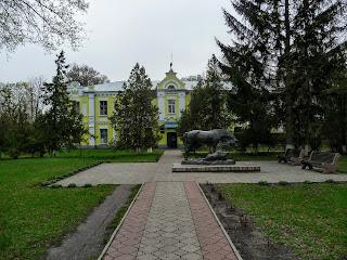 Дібрівка. Миргородський р-н. Кінний завод