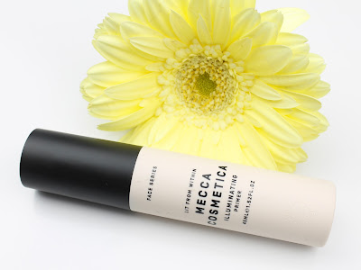 Mecca Cosmetica Lit From Within Illuminating Primer Maxima review dry skin