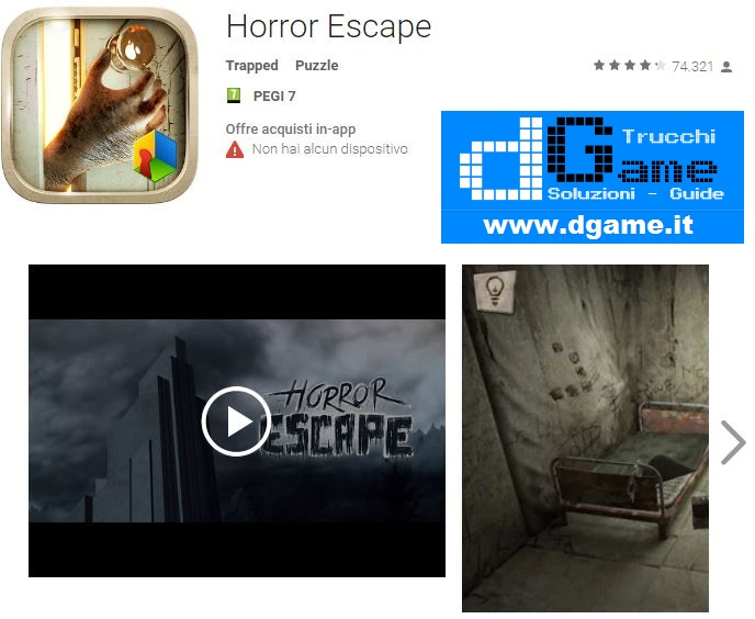Soluzioni Horror Escape di tutti i livelli | Walkthrough guide