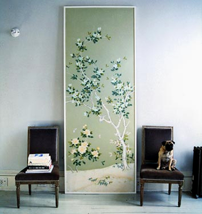 Oh The Fls And Birds Against Dark Background Chinoiserie Of It All These Images Make Me Feel Like I M An Old Dame Living In Some French