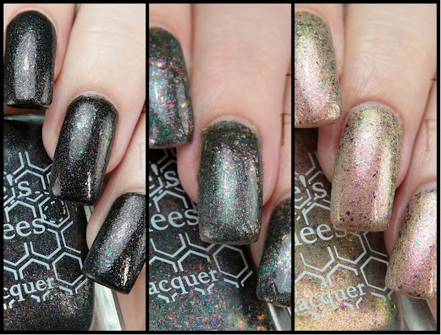 Bee's Knees Lacquer Indie Expo Canada Supernatural Trio