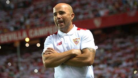 Jorge Sampaoli, huấn luyện viên của CLB Sevilla.