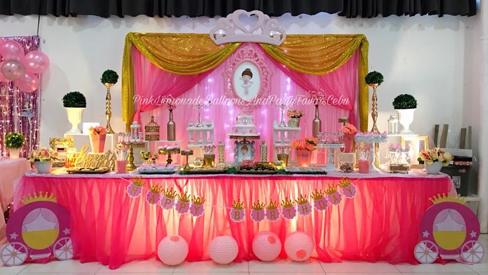 Pink Lemonade Balloons And Party Favors Cebu Elegant