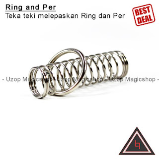 Jual alat sulap per and ring