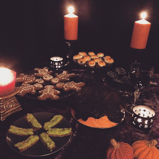 A Halloween Witches Tea Party 2015