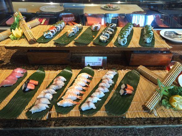 Sashimi at Seven Corners Restaurant