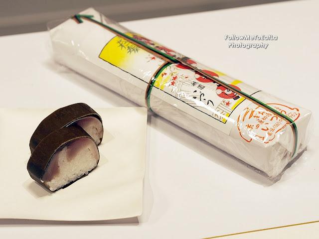 Saba-Sugatazushi (Whole Mackerel Lightly Matured Sushi)