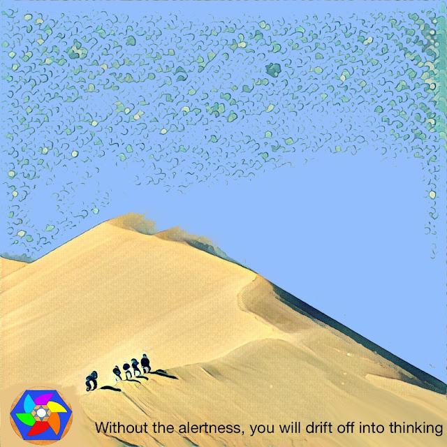 Meditation, Alertness