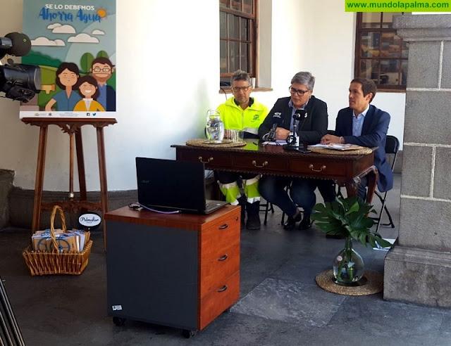 El Ayuntamiento de Los Llanos promueve una campaña de sensibilización ciudadana para fomentar las buenas prácticas y el ahorro de agua