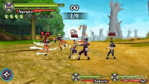 Naruto Shippuden Ultimate Ninja Heroes 3 SS 3