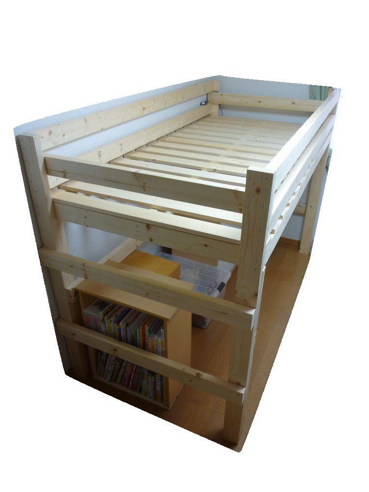 ベッド diy ロフト