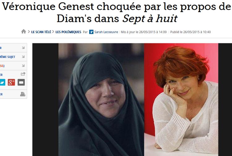 Diam's justifie les attenats de Charlie-Hebdo