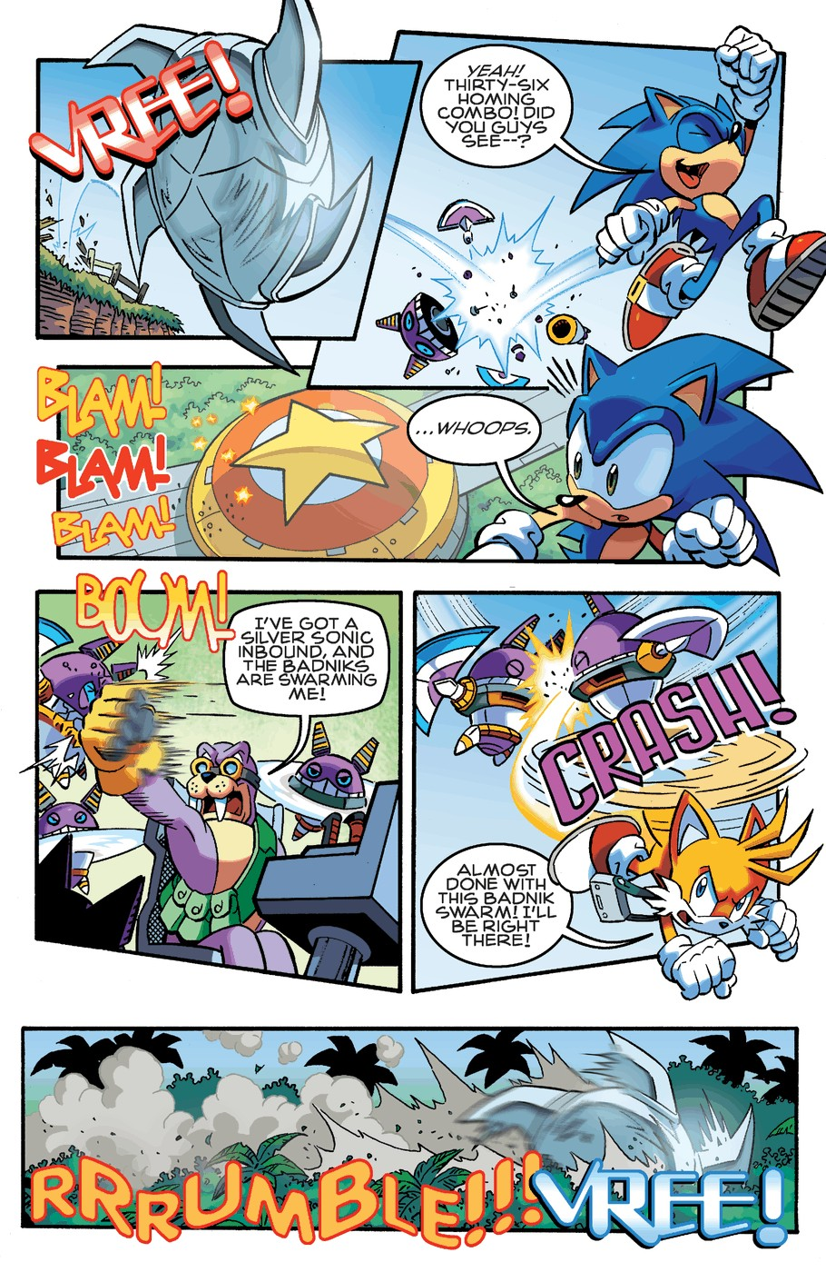 Read online Sonic The Hedgehog comic -  Issue #253 - 15
