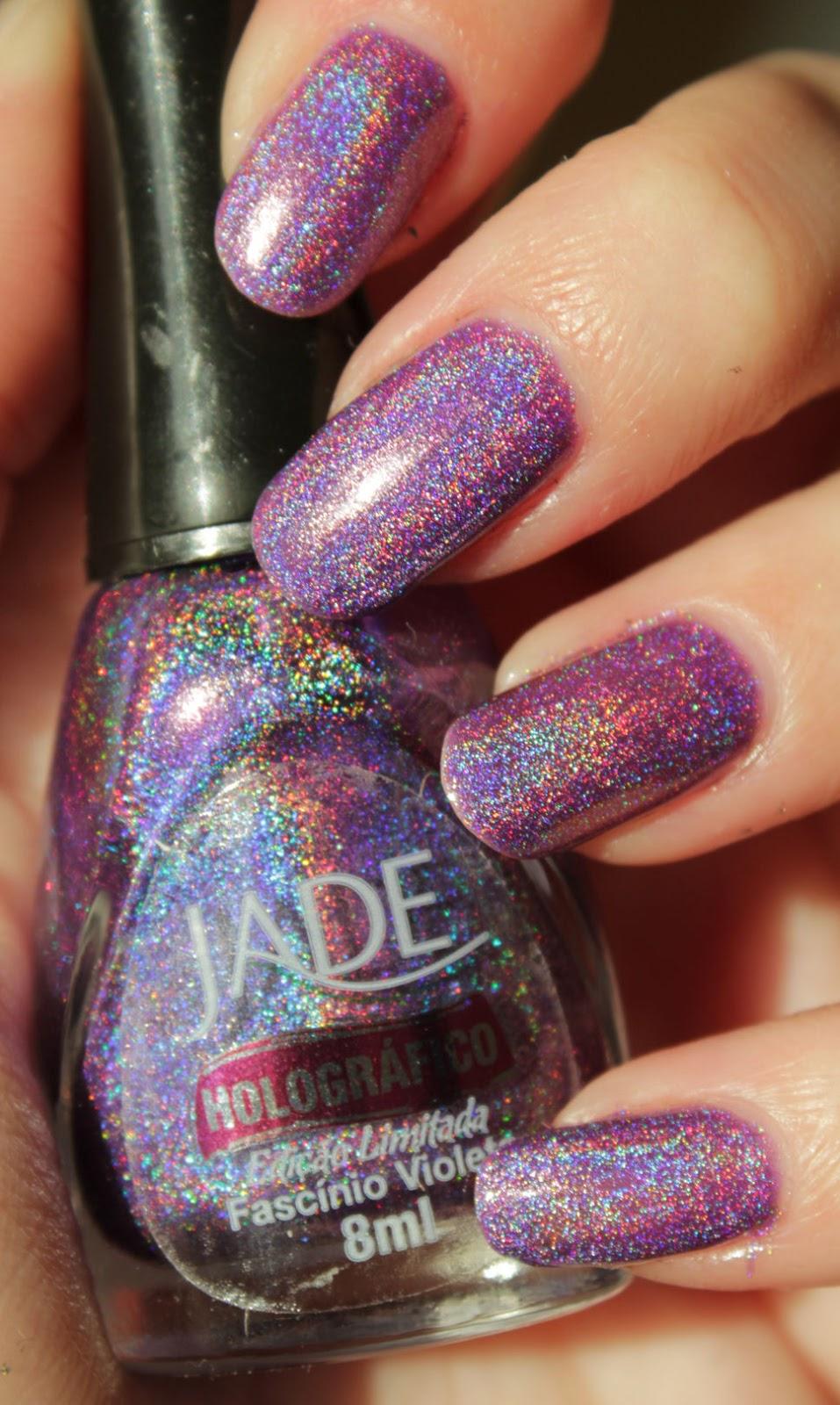 http://lacquediction.blogspot.de/2015/05/jade-holografico-fascinio-violeta.html