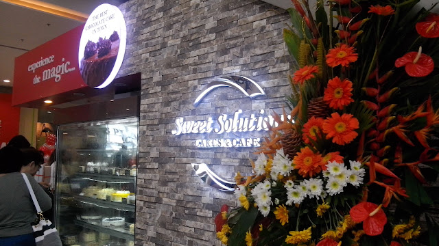 Located just at the Ground Level Activity Area, Sweet Soluyions is very easy to find. That day September 30, 2016 marks its Grand Opening.