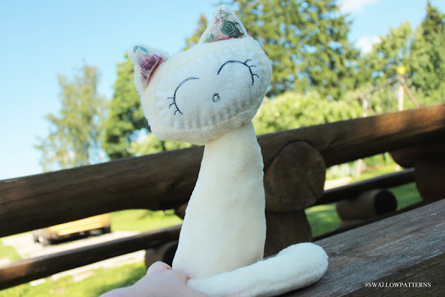 Marta Cat sewing pattern