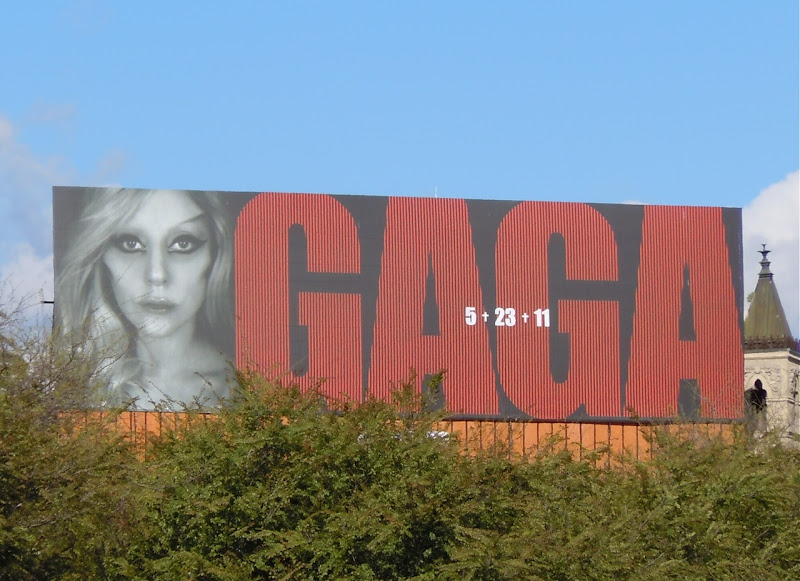 Lady Gaga billboard
