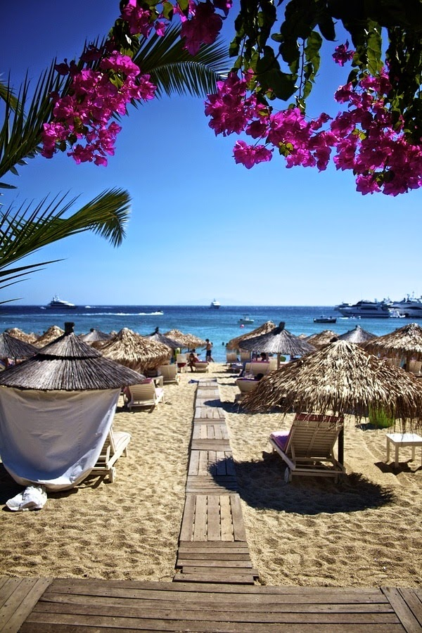 10 Hottest Summer Destinations In Europe | Mykonos Ornos Beach, Mykonos - Greece