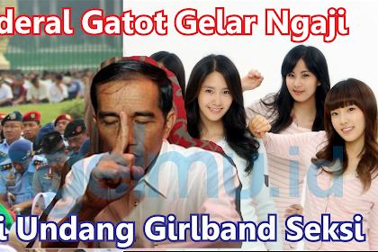 Beda Kelas, TNI akan Gelar Murajaah Qur'an Saat Hari Kemerdekaan, Jokowi Justru Undang Girlband Seksi SNSD