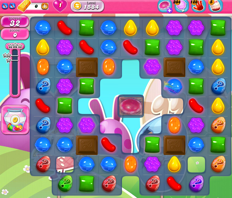 Candy Crush Saga 1584