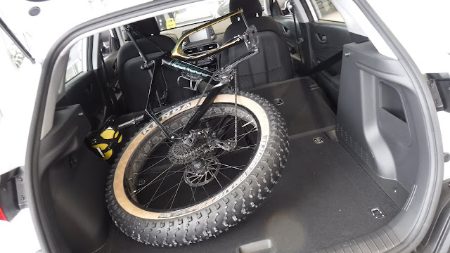 Fatbike Republic, fat bike, Newfoundland, Will my fat bike fit in a, Will my bike fit in a, fat bike in SUV, fatbike in SUV, Will my fat bike fit in a Hyundai Kona