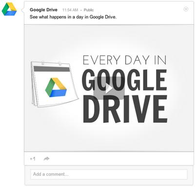 Ya puedes compartir todas tus cosas de google Drive en Facebook, Twitter y Google plus 0