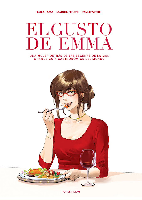 """Reseña de """"El Gusto de Emma"""" de Emmanuelle Maisonneuve, Julia Pavlowitch y Kan Takahama - Ponent Mon"""