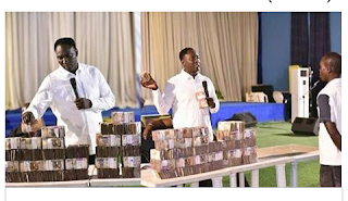 Pastor shares 30million for his members during church service