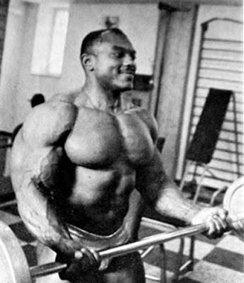 Sergio Oliva Biceps Curl
