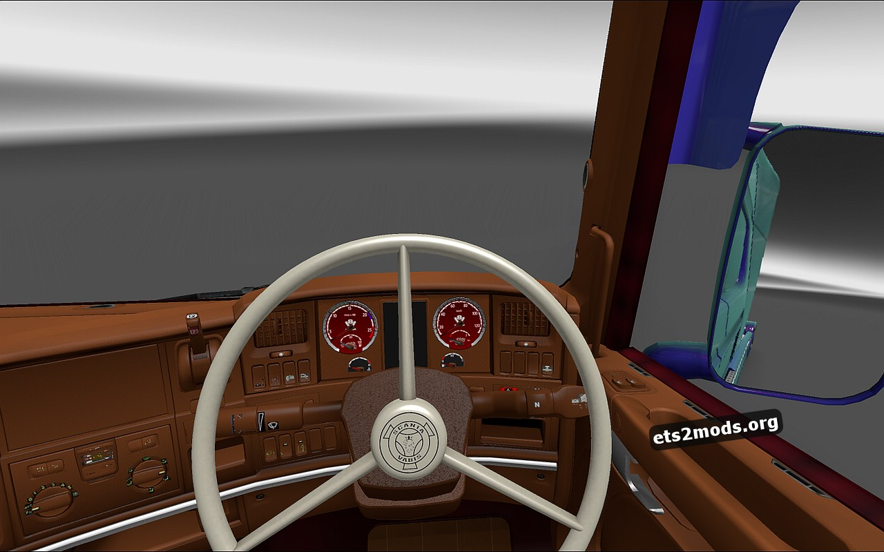 Brown Interior for Scania RJL