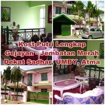 Info Kost Putri Di Yogyakarta Harian Mingguan Bulanan