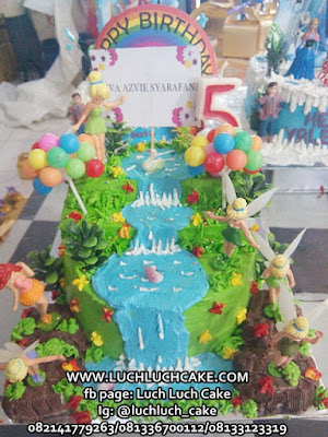 Kue Tart Ulang Tahun Tinkerbell Lucu