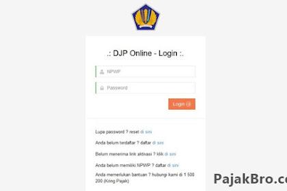 Kendala e-Filing DJP Online Tidak Bisa Diakses 2019