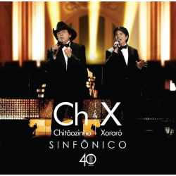 CD - CD Chitãozinho & Xororó - Sinfônico